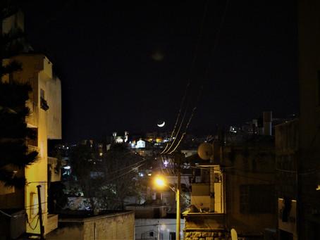 Nazareth, la nuit.