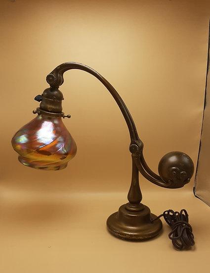 Tiffany Counterbalance Lamp with Tiffany Shade