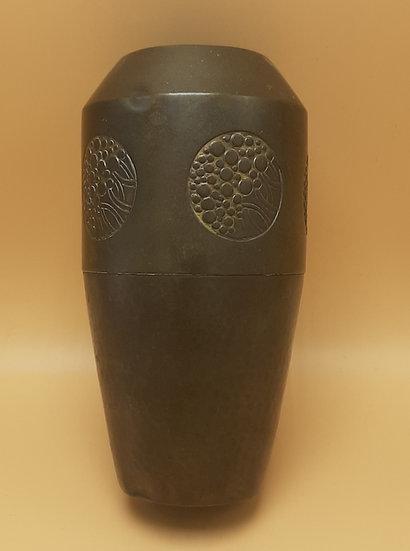 Round Copper Vase