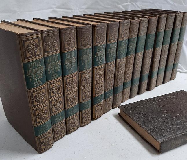 Elbert Hubbard's LITTLE JOURNEYS, complete set