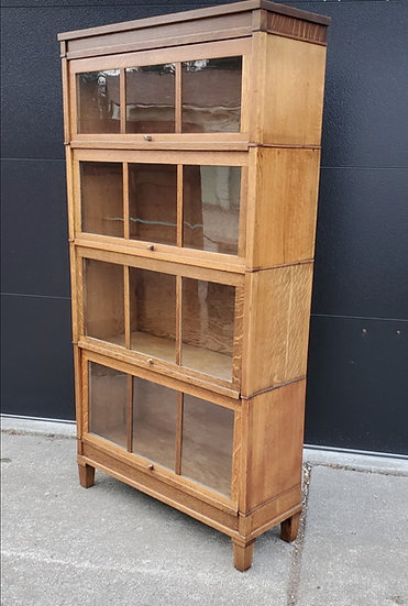 Macy's Quarter-Sawn Oak Barrister Bookcase
