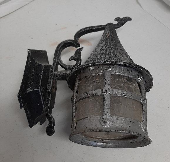 Vintage Cast Iron Outdoor Fixture