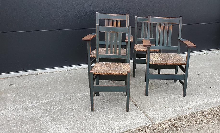 L&JG Stickley Chairs, Model 364