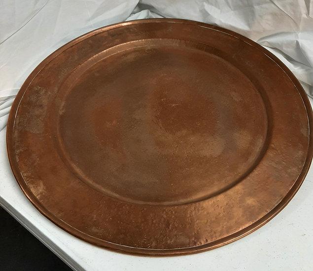 Large Copper Platter