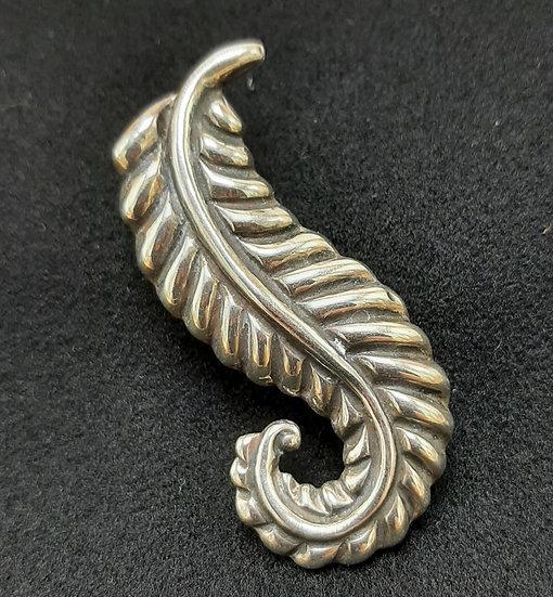 Sterling Silver Pin, Hecho-En-Mexico