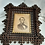 Thumbnail: Vintage Crown of Thorns Frame with Lincoln Print