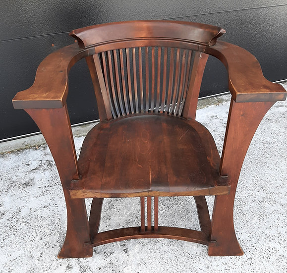 Vintage arm chair, original finish