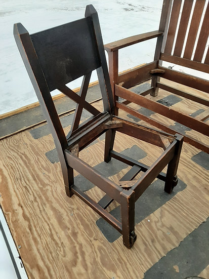 Twin Cities Mission Dining Chairs, 5