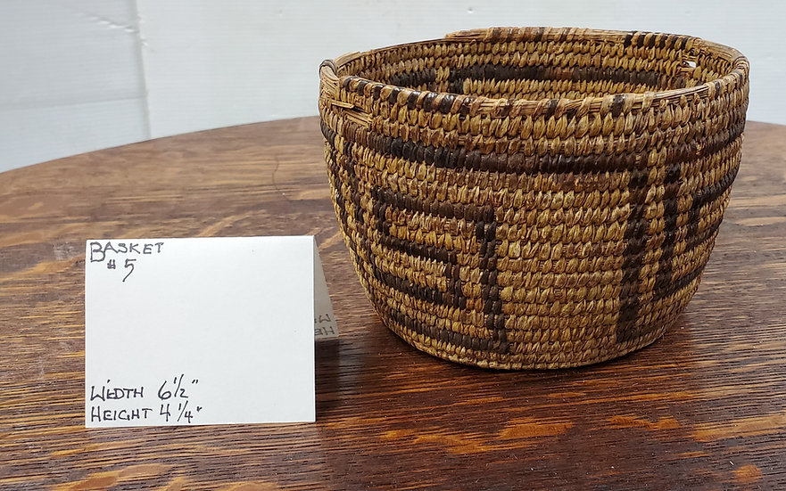 Vintage basket, circa 1900's