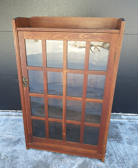 SOLD       Charles Stickley Single Door Bookcase, #1832