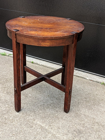 """SOLD      J.M. Young Table, 26"""""""