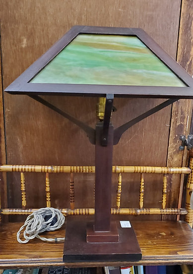 SOLD   Vintage Mahagony Lamp