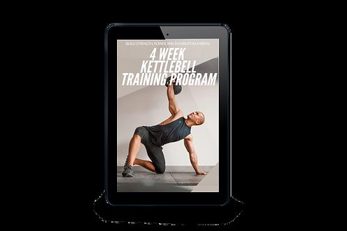 4 Week Kettlebell Program
