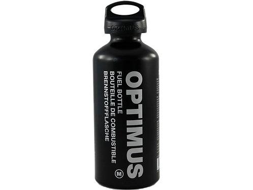 Optimus Fuel Bottle M 0.6 Liter with Child Safe Cap - Black