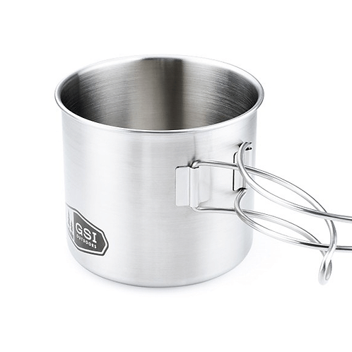 GSI Outdoors Glacier Stainless Steel Cup/Pot Small 500 ML