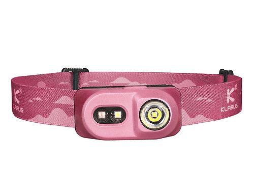 Klarus H1A-PL 350 Lumens Waterproof Rechargeable Headlamp - Pink