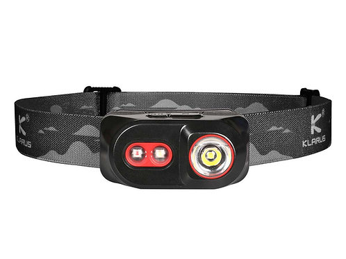 Klarus H1A-PL 350 Lumens Waterproof Rechargeable Headlamp - Black