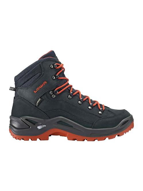 LOWA Renegade GTX® Mid Men's - Navy/ Rust