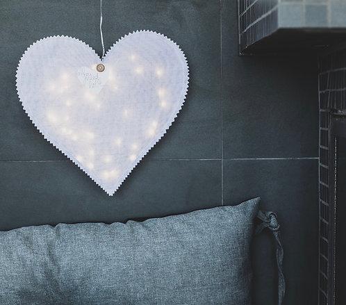 RÄDER - Herzlicht mit LED Lichterkette