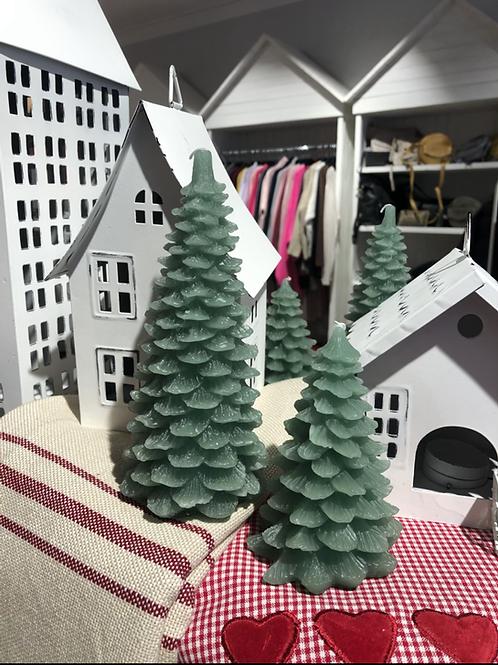 """Ib Laursen - Weihnachtskerze Hellgrün klein """"Tannenbaum"""""""