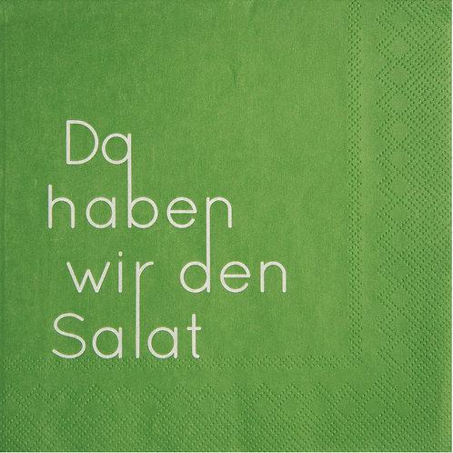 """RÄDER - Servietten """"Da haben wir den Salat"""""""