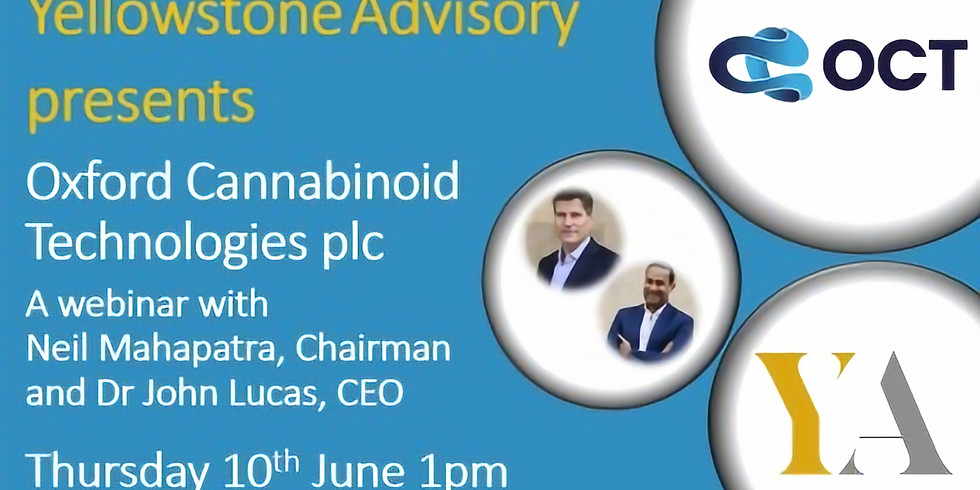 Oxford Cannabinoid Technologies plc Webinar
