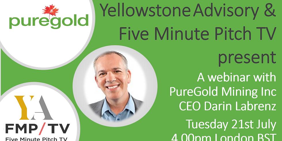 Webinar with PureGold Mining Inc