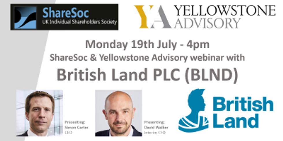 British Land plc Investor Webinar