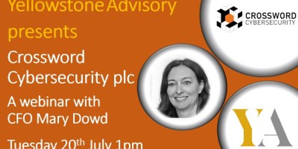 Crossword Cybersecurity plc Webinar