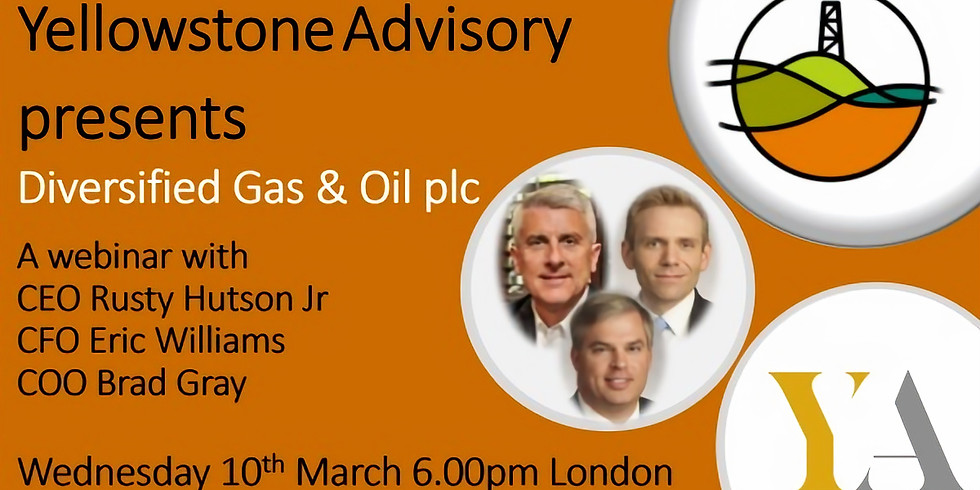 Diversified Gas and Oil FY results webinar