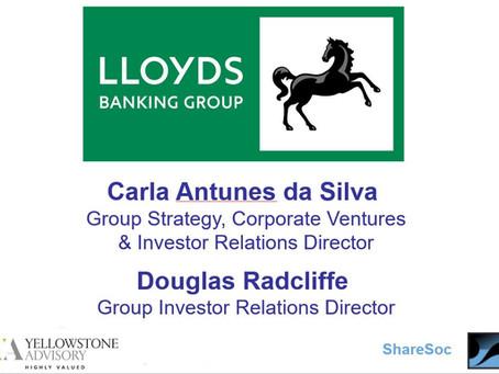Lloyds Banking Group Investor webinar