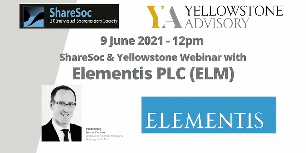 Elementis plc webinar