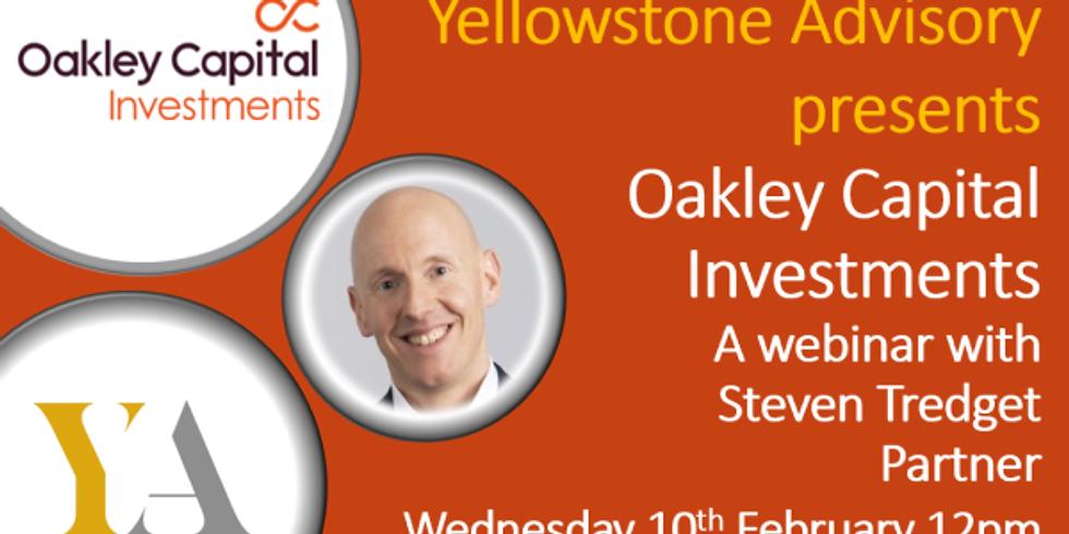 Oakley Capital Investments Webinar