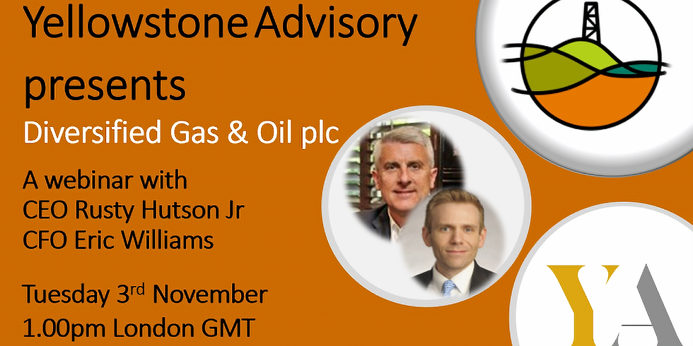 Webinar with Diversified Gas and Oil Plc