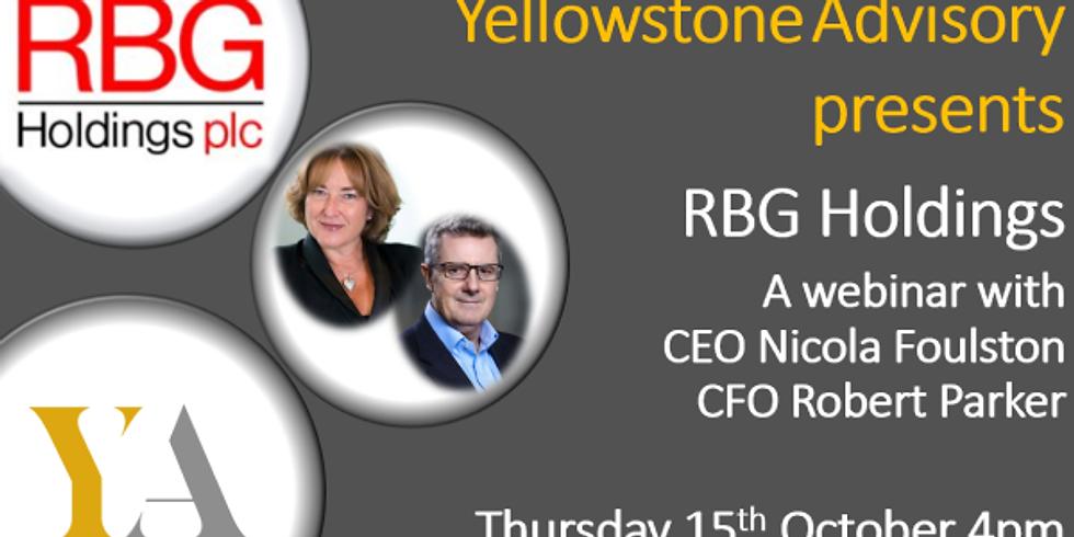 RBG Holdings Plc Webinar