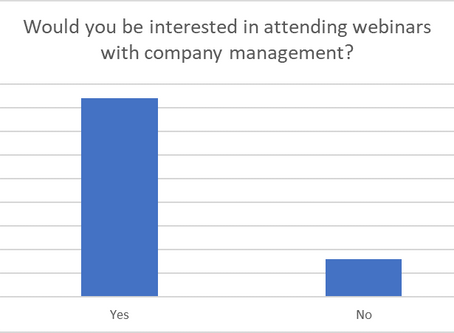 Webinars: The key to private investor engagement