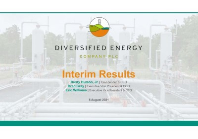 Diversified Energy: HY results show further progress