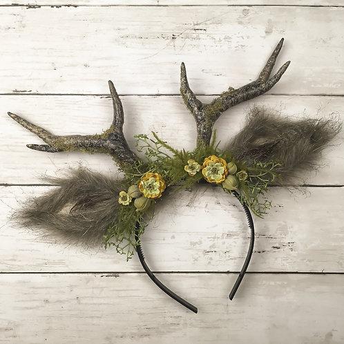 Moss and Stone Handmade Antler Headband