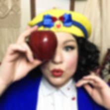snow white cosplay disneybound beret
