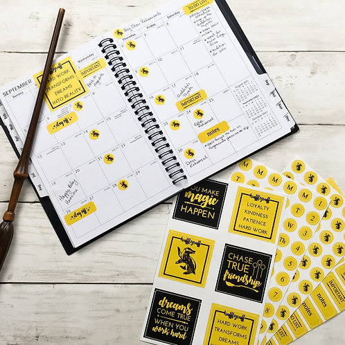 House Planner Stickers 4-Pack