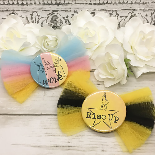 Hamilton Themed Hair Bows