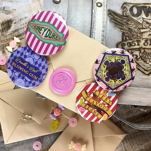 Candy Shop Letter Button Set