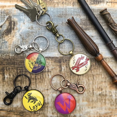 Wizard Keychain / Backpack Charms