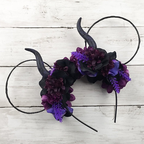 Deluxe Horned Mouse Ears