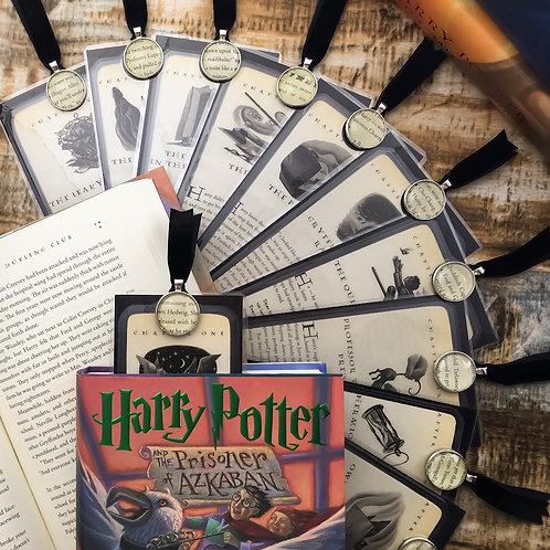 Harry Potter Prisoner of Azkaban Chapter Page Bookmarks