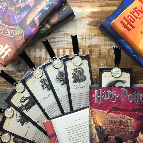Harry Potter Chamber of Secrets Chapter Page Bookmarks