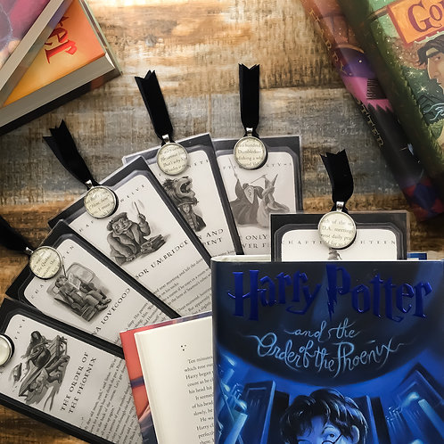 Harry Potter Order of the Phoenix (Ch 1-30) Chapter Page Bookmarks