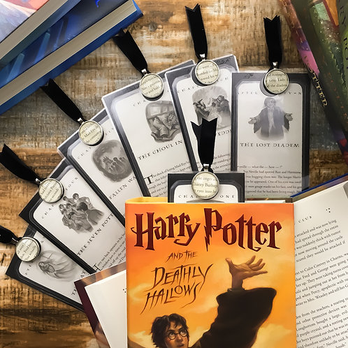 Harry Potter Deathly Hallows (Ch 31-36) Chapter Page Bookmarks