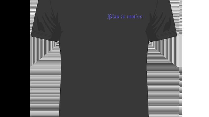 Black 'Blue Bandana Print' T-shirt