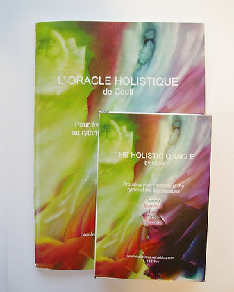 l'Oracle Holistique/ cards and leeflet/カード